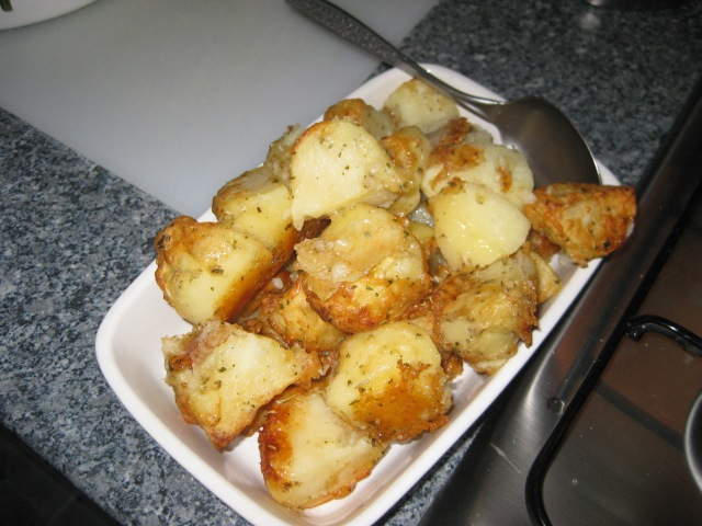 Cheesy Roasties