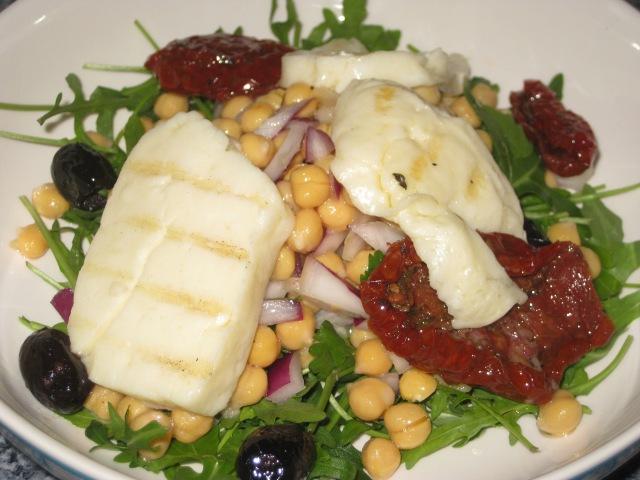 Haloumi Salad (10)