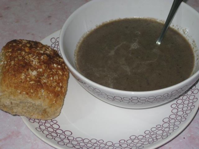 Creamy Mushroom Soup (11)