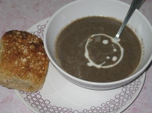 Creamy Mushroom Soup (12)