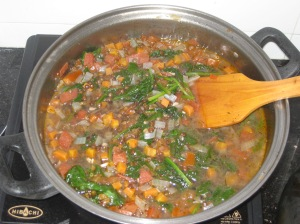 Puy Lentil And Spinach Soup (11)