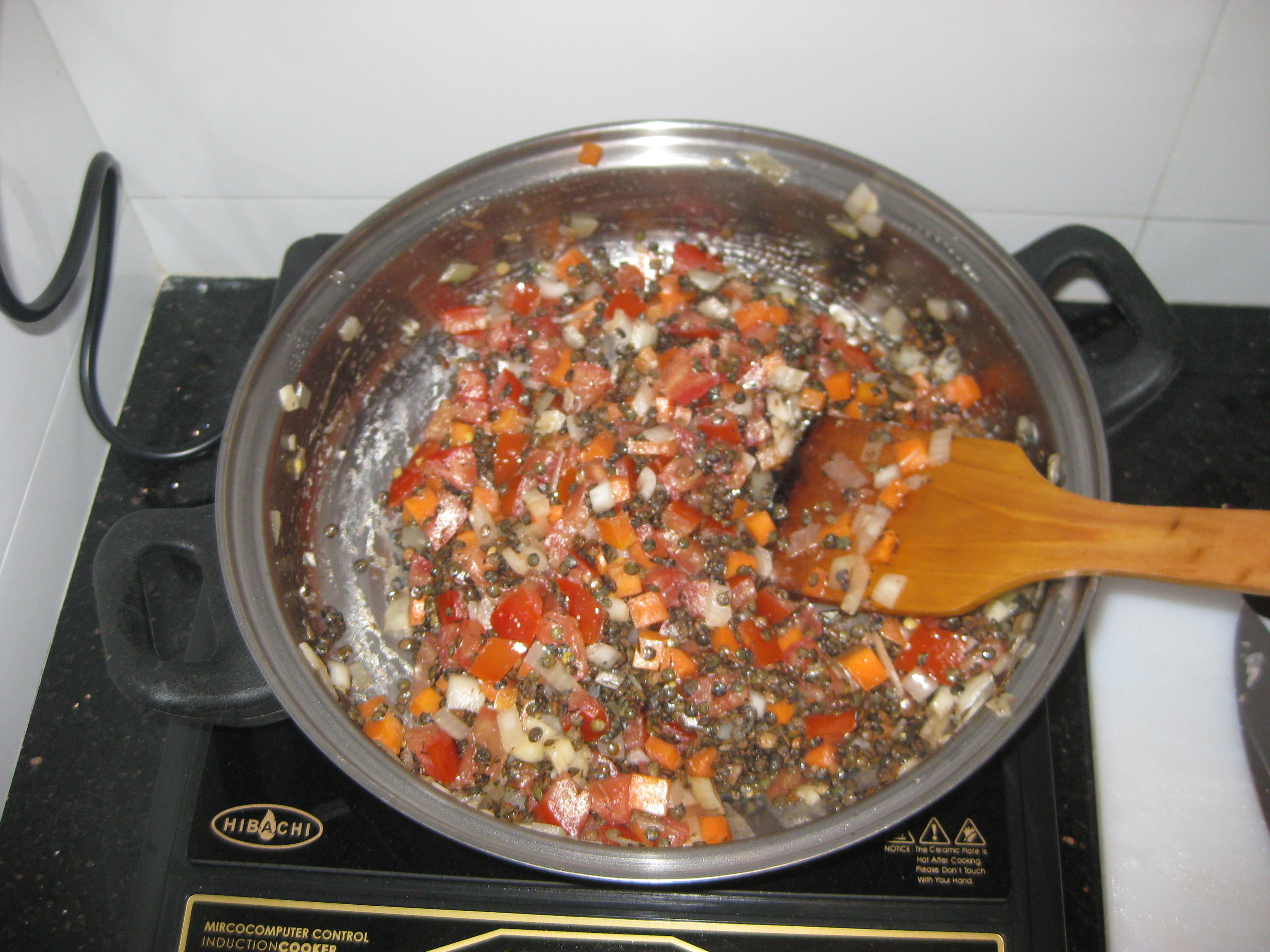 how to cook soup mix lentils