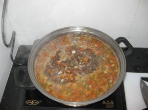 Puy Lentil And Spinach Soup (4)