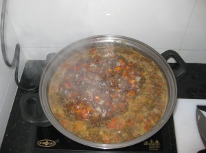 Puy Lentil And Spinach Soup (5)