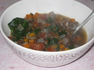 Puy Lentil And Spinach Soup (7)