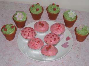 Rose Cupcakes (25)