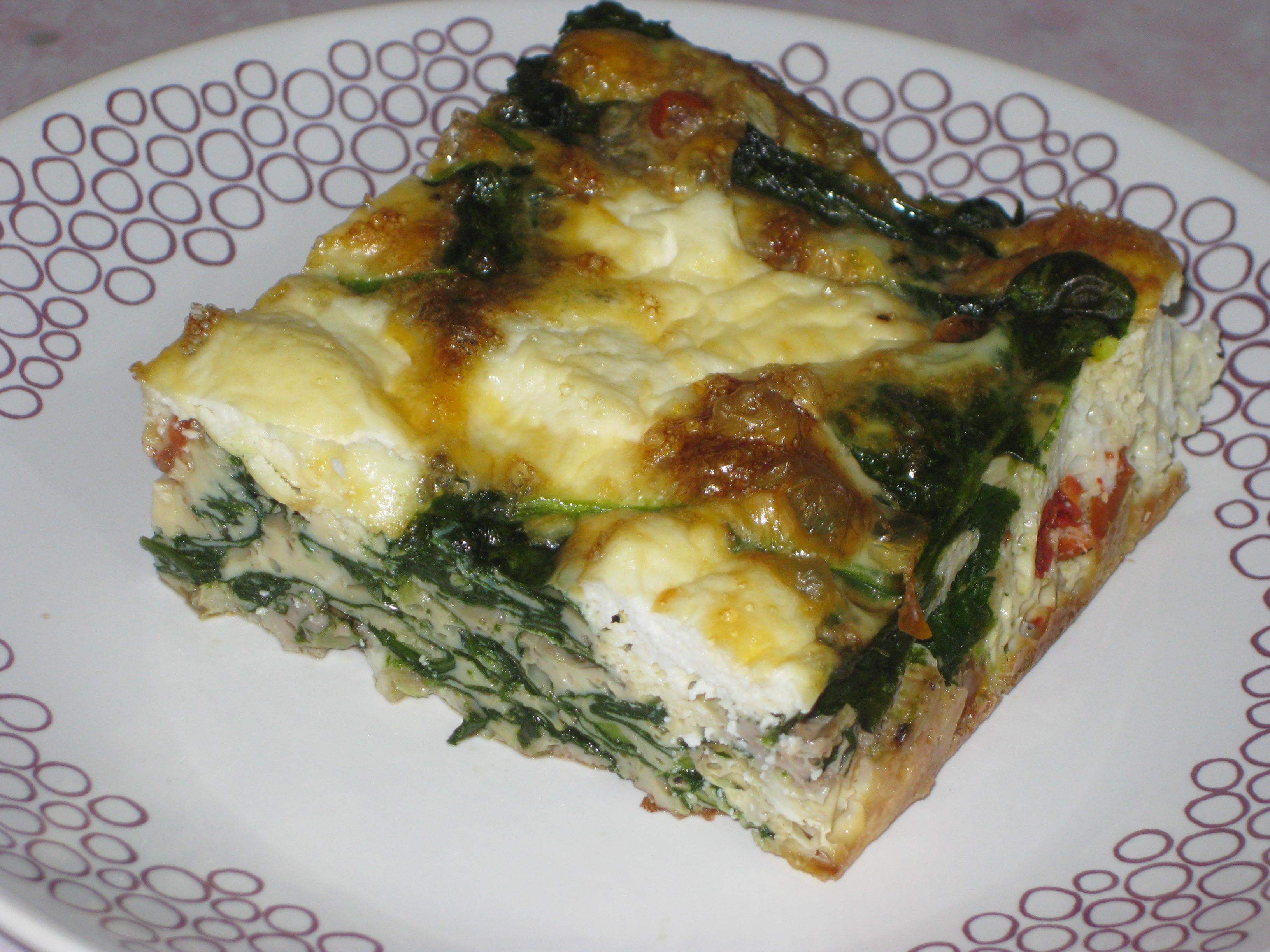 Spinach Frittata | Herbivores' Heaven