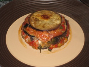 Aubergine Timbales (16)