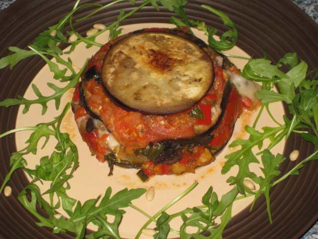 Aubergine Timbales (19)