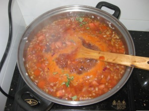 Mexican Bean And Tomato Soup (3)
