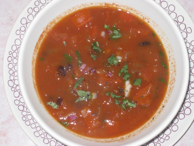 Mexican Bean And Tomato Soup (9)