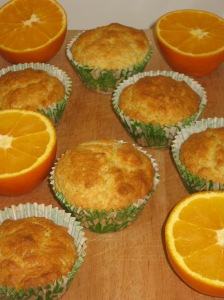 Orange Muffins (12)