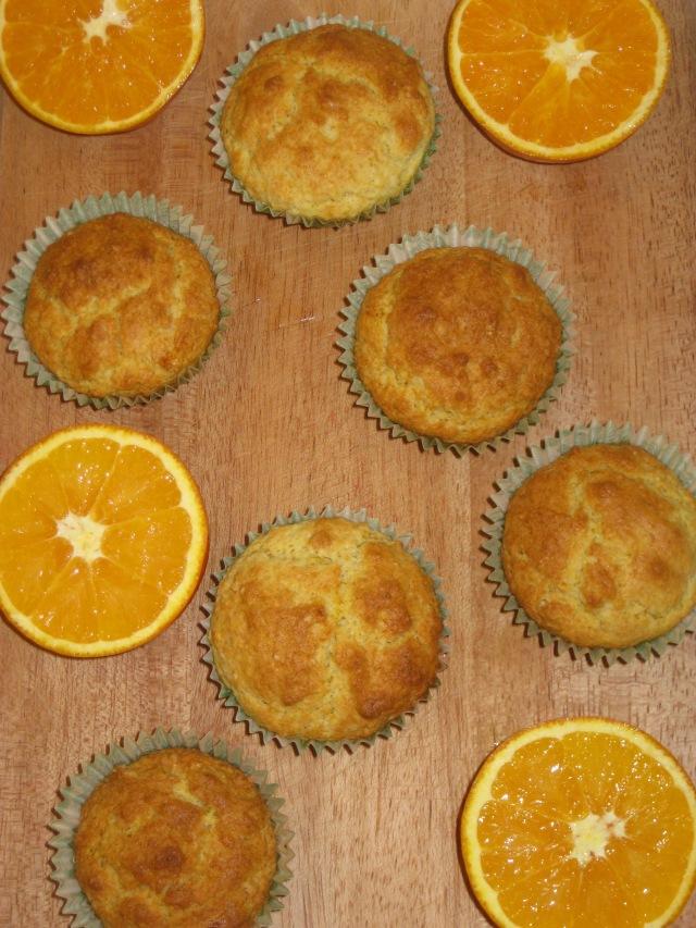 Orange Muffins (9)