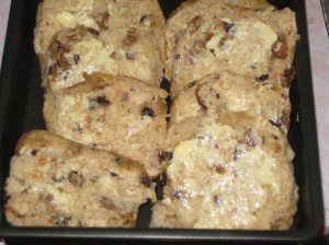 Hot Cross Bun And ButterPudding (4)