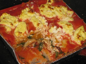 Pumpkin, Spinach And Goats Cheese Lasagna (15)