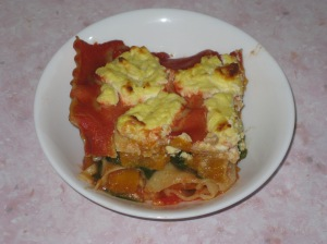 Pumpkin, Spinach And Goats Cheese Lasagna (16)