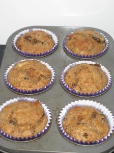 Banana Bran Muffins (8)