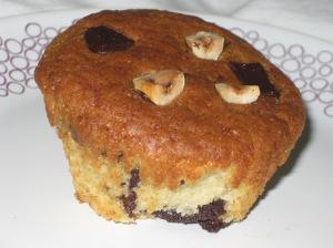 Choc Hazelnut Muffins (15)