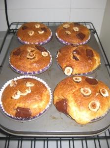 Choc Hazelnut Muffins (7)