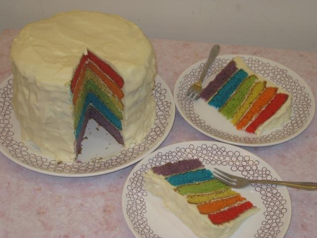 Rainbow Cake (25)