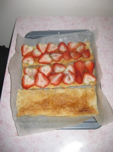 Strawberry Millefeuille (6)