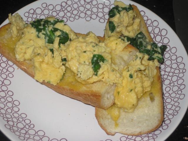 Posh Scrambled Eggs on Toast (5)