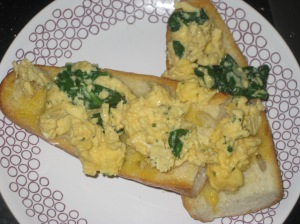 Posh Scrambled Eggs on Toast (6)