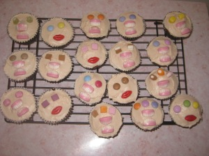 Liquorice And Blackcurrant Monster Cupcakes (10)
