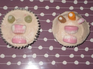 Liquorice And Blackcurrant Monster Cupcakes (13)