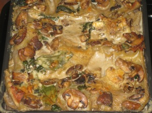 Quick Spinach And Mushroom Lasagne (10)