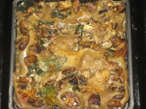 Quick Spinach And Mushroom Lasagne (12)