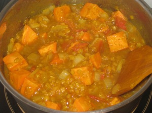 Sweet Potato, Spinach And Lentil Dahl (2)