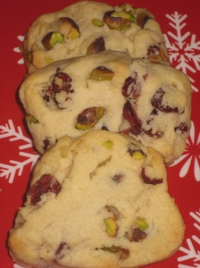 Cranberry and Pistachio Cookies (12)