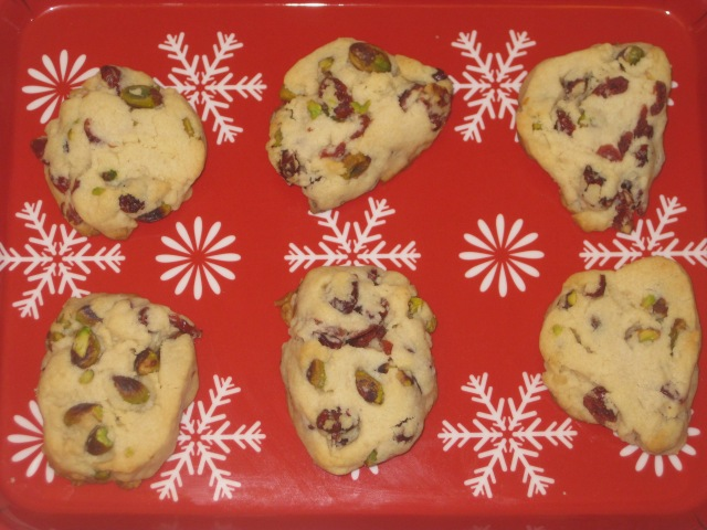 Cranberry and Pistachio Cookies (8)