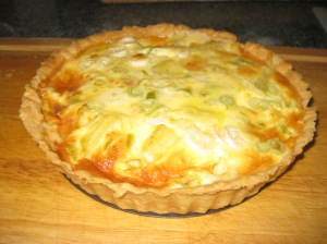 New Potato, Spring Onion And Cheddar Quiche 1