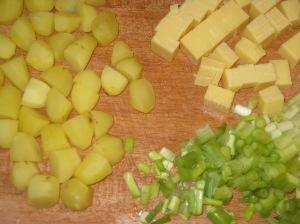 New Potato, Spring Onion and Cheddar Quiche (6)