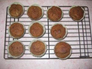Vegan Banana Muffins (12)