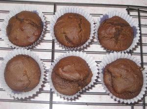 Vegan Chocolate Muffins (10)