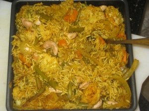Vegetable Biryani (10)