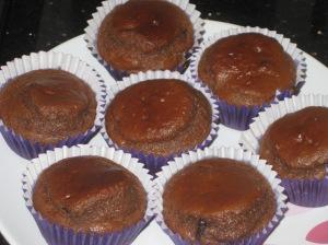 Choc Peanut Butter Muffins (11)