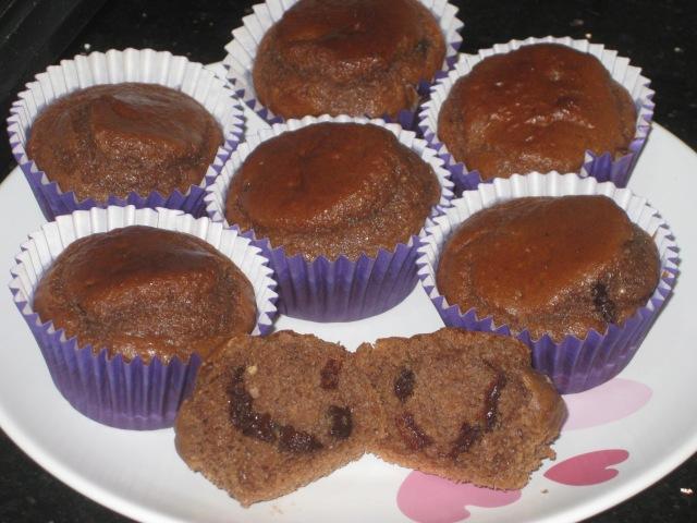 Choc Peanut Butter Muffins (13)