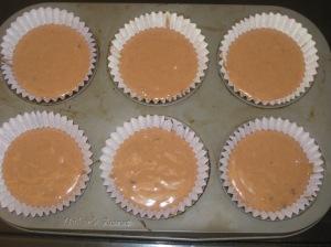 Choc Peanut Butter Muffins (5)