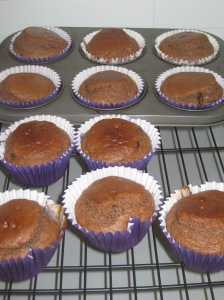 Choc Peanut Butter Muffins (8)