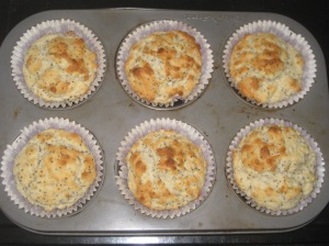 Lemon and Poppyseed Muffins (4)