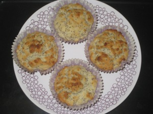 Lemon and Poppyseed Muffins (9)