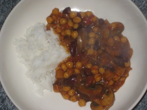 Bean and mushroom chilli (12)