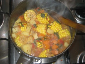 Bolivian Sweetcorn Stew (7)