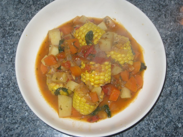 Bolivian Sweetcorn Stew (9)