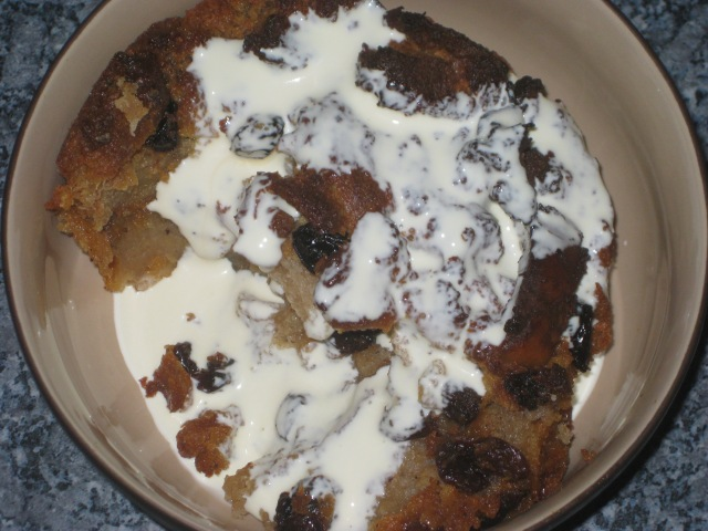 Chez Helene Bread Pudding (10)