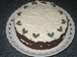 Ginger Cream Christmas Cake (22)